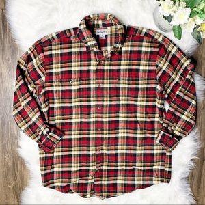 • Carhartt Plaid Fall Button Down Shirt •